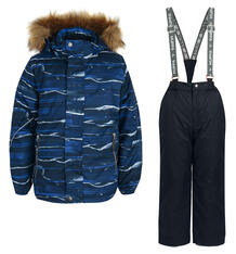 Комплект куртка/полукомбинезон Huppa Dante, цвет: синий 9562083
