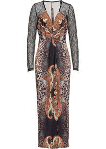 Платье с принтом bonprix 243758429