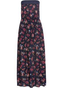 Платье макси бандо с принтом bonprix 265847164