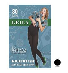 Колготки для беременных 40 Недель 80 den Leila nero, цвет: черный 5064583