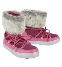 Унты Crocs LodgePoint Lace Boot W Pomegranate, цвет: фиолетовый 7149979