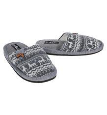 Тапочки Lamaliboo, цвет: серый 7413415