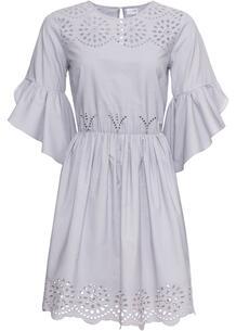 Платье с вышивкой ришелье bonprix 247938287