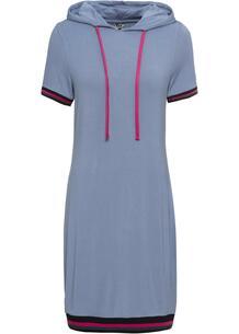 Платье с капюшоном, трикотаж bonprix 246627004