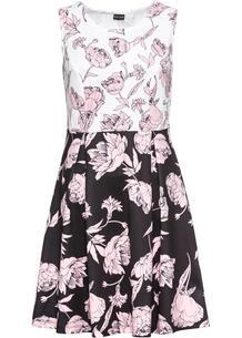 Платье с принтом, трикотаж bonprix 249000352