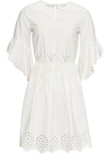 Платье с вышивкой ришелье bonprix 247938278