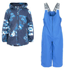 Комплект куртка/полукомбинезон Huppa Yoko, цвет: синий 8422927