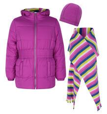 Куртка Pink platinum by Broadway kids, цвет: фиолетовый 7755937