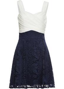 Платье с кружевной юбкой bonprix 245252589