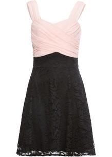 Платье с кружевной юбкой bonprix 245252594