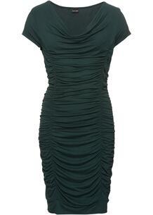 Платье облегающее с драпировкой bonprix 235998106