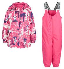 Комплект куртка/брюки Huppa Avery 1, цвет: фуксия 6186409