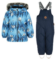 Комплект куртка/брюки Huppa Noelle 1, цвет: синий 6185131