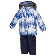 Комплект куртка/брюки Huppa Noelle 1, цвет: синий 6169819