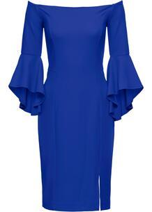Платье с вырезом кармен bonprix 222657497