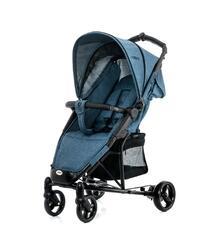 Прогулочная коляска Moon Kiss, цвет: blue melange 4703083