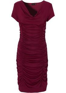 Платье облегающее с драпировкой bonprix 168613821