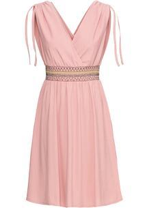 Платье с драпировкой bonprix 247938015
