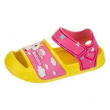Сандалии пляжные для девочек Mursu, розовый, желтый MOTHERCARE 621788