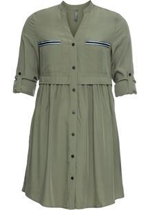 Платье-рубашка короткого покроя bonprix 246064916