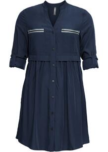Платье-рубашка короткого покроя bonprix 246064907