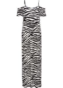 Летнее платье с открытыми плечами bonprix 233154844