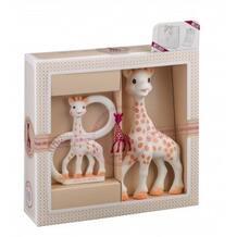 """Игрушки в наборе в подарочной упаковке """"Жирафик Софи"""" Vulli 603975"""
