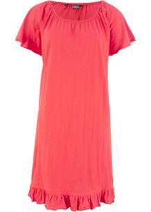 Платье с воланами, трикотаж bonprix 247023295