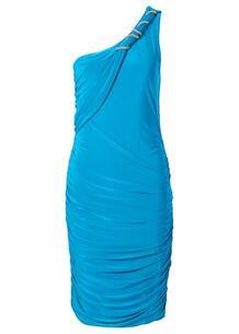 Платье на одно плечо (нежно-бирюзовый) bonprix 91125495