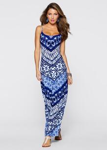 Платье (черный/белый) bonprix 96926081