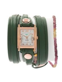 Часы Stones Rainbow Tourmaline Emerald La Mer Collections 4358830
