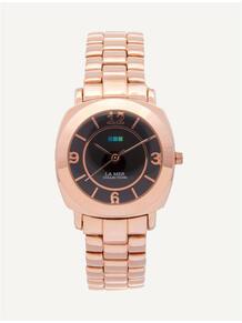 Часы Mini Odyssey Rose Gold/Black La Mer Collections 4358828