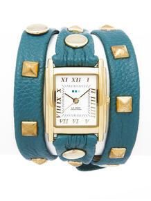 Часы Pyramid Stud Teal La Mer Collections 4358822