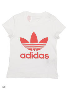 Футболка J TREFOIL TEE G Adidas 4038685
