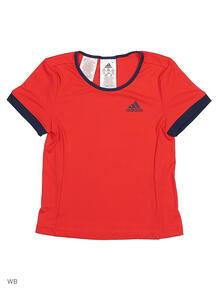 Футболка G COURT TEE RAYRED/CONAVY Adidas 3905889