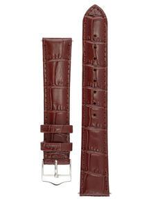 Элегантный ремешок для часов из кожи теленка с фактурой под аллигатора. Ширина от 14 до 24 мм. Signature 3874013