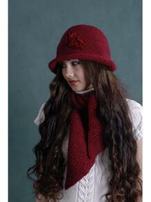 Шляпа с шарфом АЛЕНЬКИЙ ЦВЕТОЧЕК Тамара Турьянова 3792052