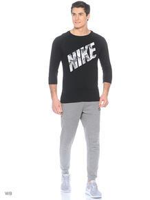 Лонгслив M NSW TEE 3QT PRNT PK BLK Nike 3682755