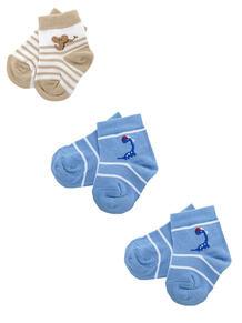 Носки, 3 пары Skinija 3653951