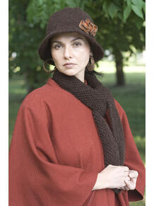 Шляпа с шарфом АЛЕНЬКИЙ ЦВЕТОЧЕК Тамара Турьянова 3477765