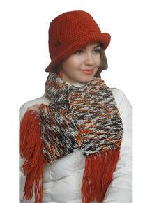 Шляпа с шарфом ПРЕМЬЕРА Тамара Турьянова 3477729