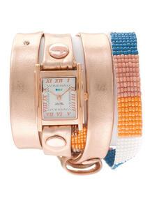 Часы Guatemala Beaded Rose Gold Orange La Mer Collections 3387604