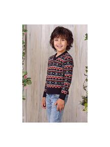 Пуловер Веснушки 2475895