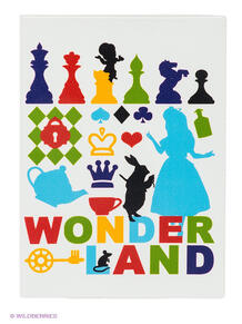 """Обложка для автодокументов """"Wonder land"""" Mitya Veselkov 1866561"""