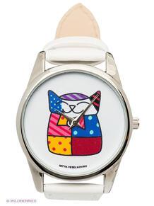 "Часы ""Лоскутная кошка"" Mitya Veselkov 1282880"