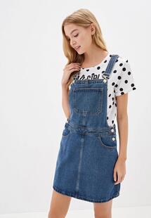 Платье джинсовое Товары OSTIN lr2v43