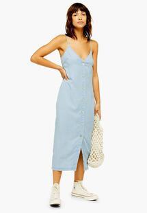 Платье джинсовое TOPSHOP 05p90pblc