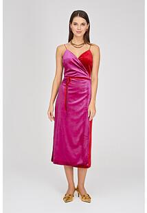 Комбинированное платье La Reine Blanche 321272