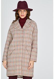 Пальто в клетку La Reine Blanche 314511