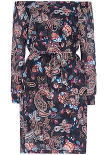 Платье с открытыми плечами No name 309493